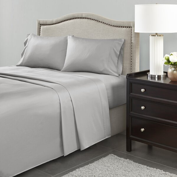 Cornelio 600 Thread Count 100% Cotton 4 Piece Sheet Set by The Twillery Co.